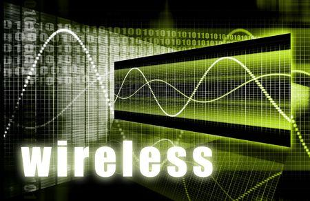 Wireless Technology als Wifi Digitale Achtergrond
