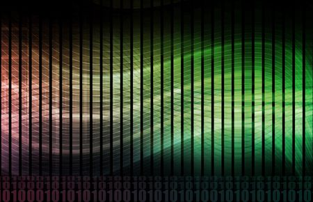 Futuristic Abstract as a Technology Background Art Stock Photo