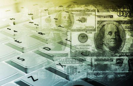 monetize: Make Money Online Concept as a Background