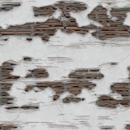 Seamless Broken Wall in a House Art photo