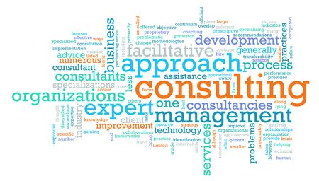 Management Consulting Service in a Company as Art photo