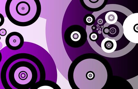 fractals: Fractals Abstract as Background With Many Circles