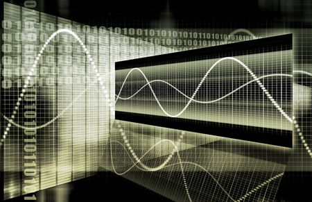 A Multimedia Technology Data as Art Background Stock Photo - 6732839