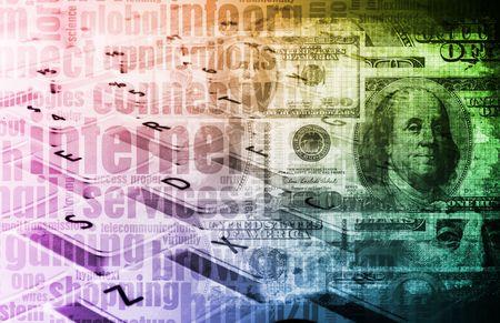 earn: Ganar dinero en l�nea concepto como un fondo de