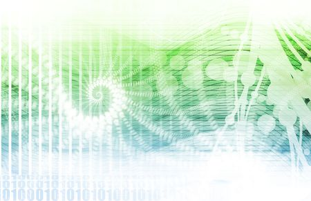 green swirl: Creative Background Abstract with a Modern Design