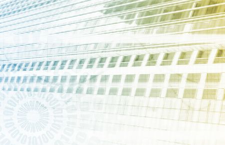 Une science médicale de virus art de technologie futuriste