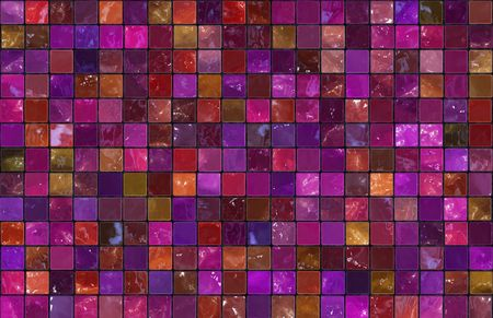 Mosiac Tiles Background as a Colorful Abstract Stock Photo - 6772892