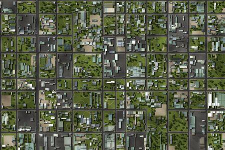 zona: �rea de suburbios de barrio como un fondo de inicio