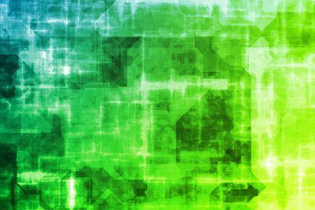 サイバー ビジネス システム データの抽象的な背景の壁紙