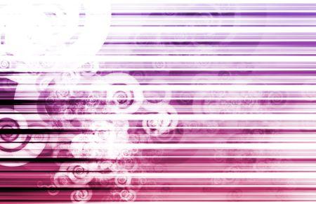 Purple Data Network Internet Tech Abstract Art photo