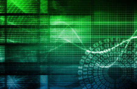 hacking: Sfondo Tech astratto di Internet sul Web