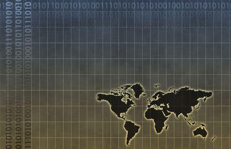Telecommunications Industry Global Network as Art Stock Photo - 6787865