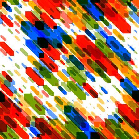 Kleurrijke naadloze achtergrond als een moderne kunst