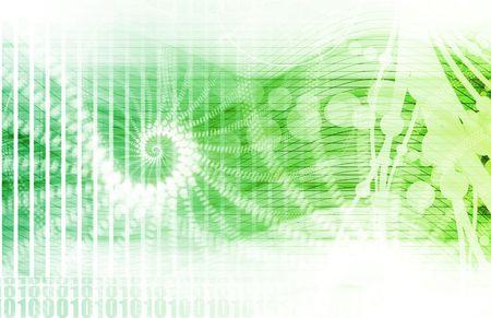 기술 예술로서의 미래 미디어 네트워크 스톡 콘텐츠