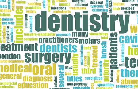 Dentistry Profession as a Medical Concept Art photo