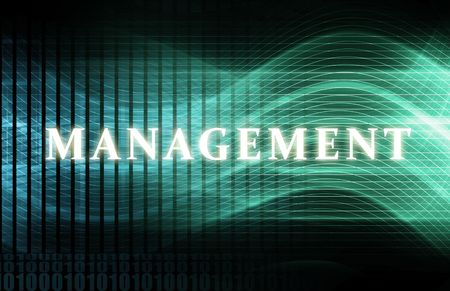 organization design: Management as a Abstract Background Concept Art Stock Photo