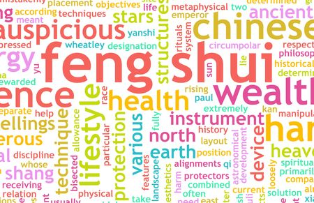 Feng Shui Traditional Chinese Science As Concept photo