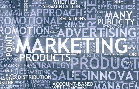 relations publiques: Informations marketing comme art avec conditions connexes Banque d'images