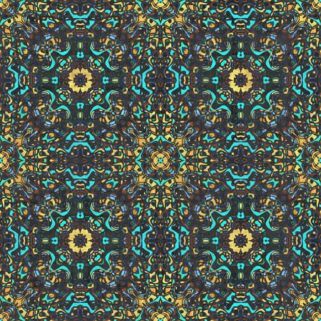 Batik Design Seamless Artistic Background as Art