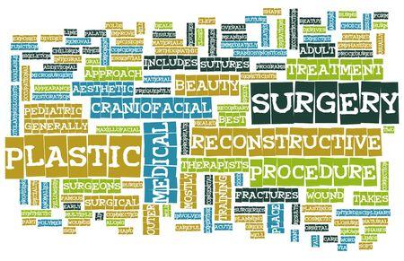 Plastische chirurgie Concept als een medische Procedure Stockfoto