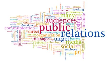 Public Relations PR Concept as a Abstract 版權商用圖片 - 6811409