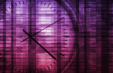 Time Management Concept as a Abstract Background photo