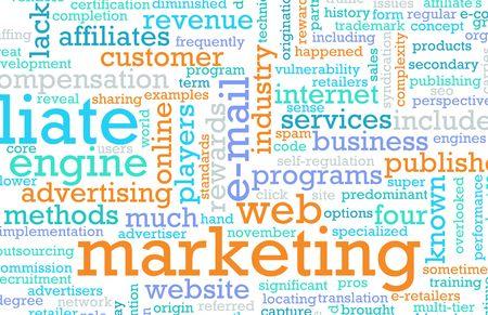Estrategia de marketing de la Web de un negocio online Foto de archivo - 6814785
