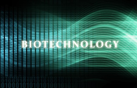 Biotechnology as a Abstract Science Concept Art Stock Photo - 6841489