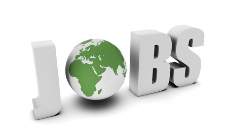 Global Jobs and Career Opportunities in 3d Banque d'images