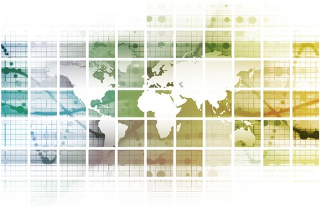 Security Network Data of the World Background Stock Photo - 6848029