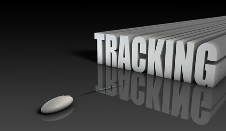 Online Tracking System of Sales Purchase in 3d Stock Photo - 6848044