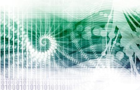 Futuristic Media Network as a Technology Art Stock Photo - 6856707