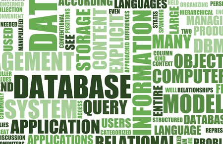 syntax: Green Database Server as a Art Background