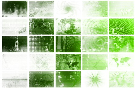 Futuristic Web Cyber Data Grid Color Background Stock Photo - 6856733