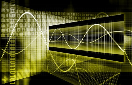 rebound: A Yellow Sales Stock Market Analysis Illustration