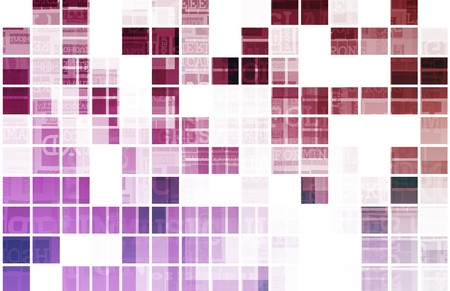 Purple Background Modern Data as a Art