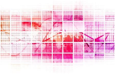 Internet Web Abstract on a Digital Background 免版税图像