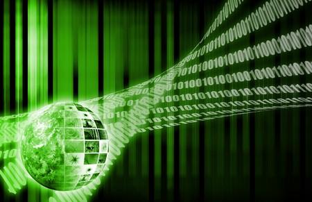 背景の壁紙としての世界的なビジネス システムのデータ 写真素材