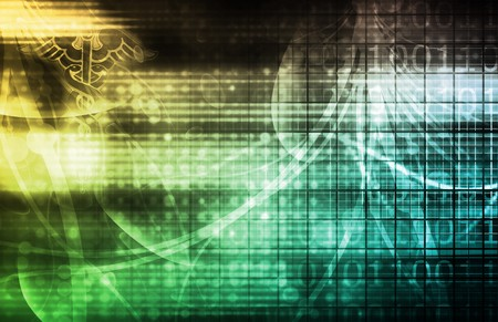 Technology Background as a Digital Abstract Art Stock Photo - 6902179