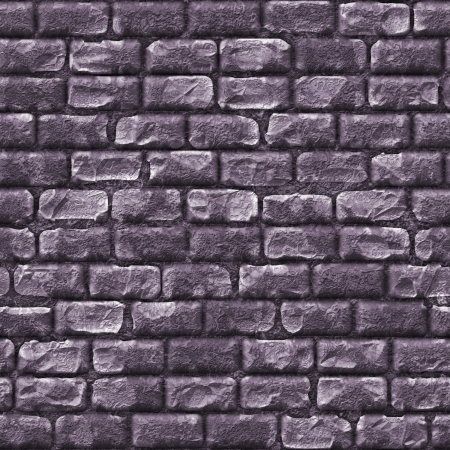 Seamless Stone Brick Wall as Textured Background photo
