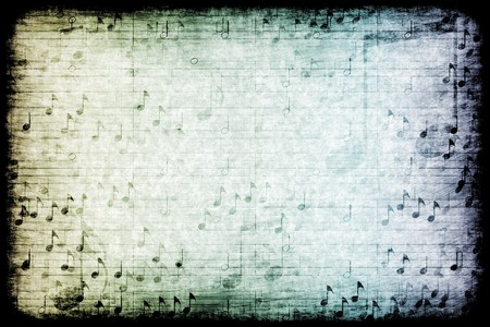 the flair: A Music Themed Abstract Grunge Background Texture Stock Photo