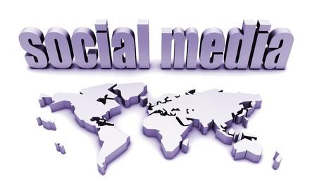 Social Media Platform For A Global Audience photo