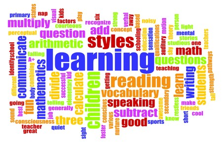 Learning is Fun Vocabulary Elementary School Art Stock Photo - 6955669