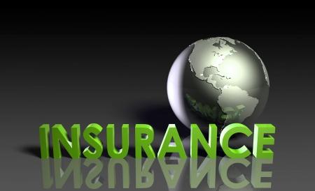 Levens verzekering beleid als een concept in 3d  Stockfoto