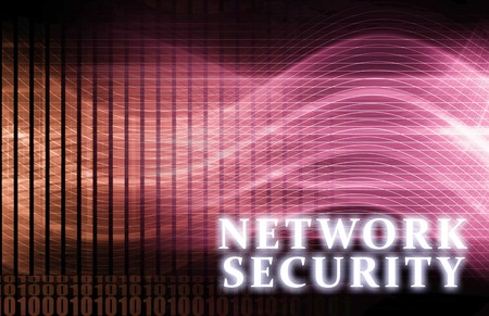 Network Security as a Concept Background Art photo