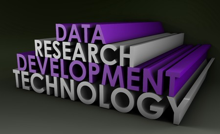 Research and Development of New Technology As Art Stock Photo - 6972657