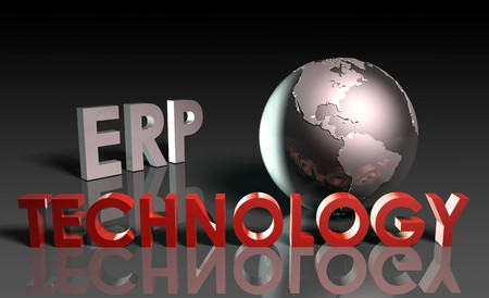 ERP Technology System Abstract as a Concept Stock Photo - 6972658