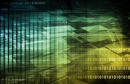 디지털 웹 아트로 미래 기술 스톡 콘텐츠