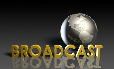 Global Broadcast Technology as Concept in 3d Stock Photo - 6972656