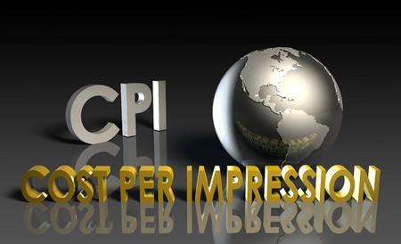 CPI Cost Per Impression Web Advertising Art photo